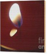 The Light Of Life Wood Print