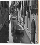 The Light - Venice Wood Print