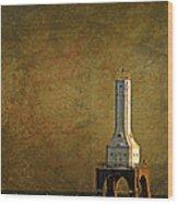 The Lighthouse - Port Washington Wood Print