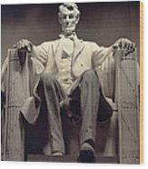The Lincoln Memorial Wood Print