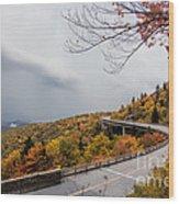 The Linn Cove Viaduct Wood Print