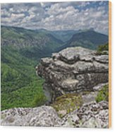 The Linville Gorge From Shortoff Wood Print