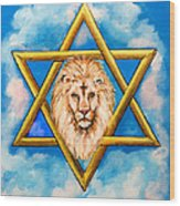 The Lion Of Judah #5 Wood Print