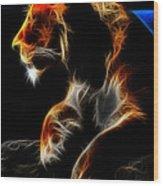 The Lioness Alt Wood Print