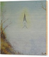 The Little Chapel In The Valley Wood Print