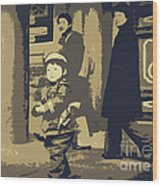 The Little Chinese Soldier Wood Print
