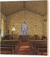 The Little Church Of La Villita Wood Print