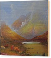 The Little Croft On The Isle Of Skye Scotland Wood Print