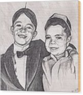 The Little Rascals Wood Print by Beverly Marshall