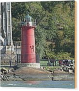 The Little Red Lighthouse Wood Print