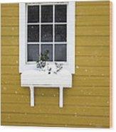 The Little Window Wood Print