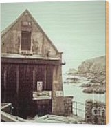 The Lizard Lifeboat Station Polpeor Cove Wood Print