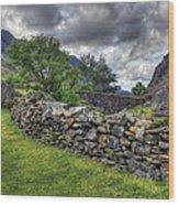 The Llanberis Pass Wood Print