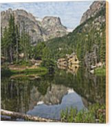 The Loch - Rocky Mountain National Park Wood Print