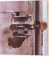 The Lock II Wood Print