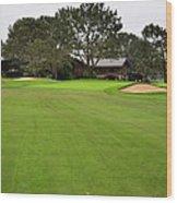 The Lodge Torrey Pines Wood Print