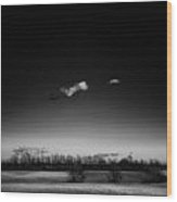 The Lonely Cloud Wood Print