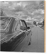 The Long Road Home - Ford Torino Cobra Jet Wood Print
