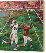 The Longest Yard Named  Wood Print by Mark Moore