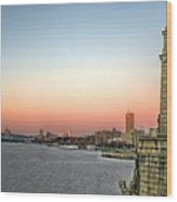 The Longfellow Bridge  Wood Print by JC Findley