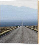 The Lonliest Road In America Wood Print