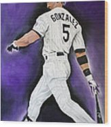 Carlos Gonzales Wood Print