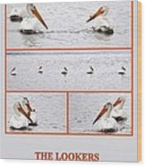 The Lookers Wood Print