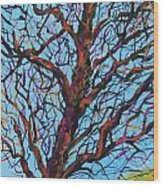 The Looking Tree Wood Print