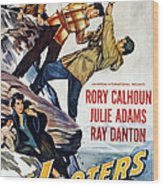 The Looters, Us Poster, Bottom Wood Print