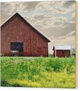The Lost Barn Wood Print
