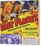 The Lost Planet, Top Right Judd Holdren Wood Print