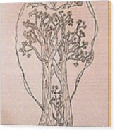 The Love And Celebration Of The Maple Tree Family Wood Print