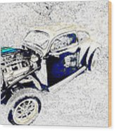 The Love Bug Wood Print