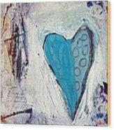 The Love Inside Wood Print