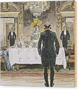 The Lucky Rich, 1896 Wood Print