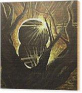 The Luminous Eclipse  Wood Print