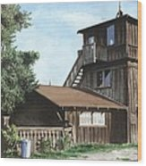 The Lund House Wood Print