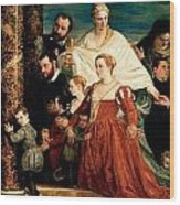 The Madonna Of The Cuccina Family Wood Print