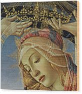 The Madonna Of The Magnificat Wood Print