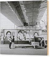 The Madras Street Wood Print