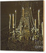 Crystal Magic Wood Print