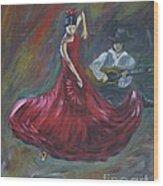 The Magic Of Dance Wood Print