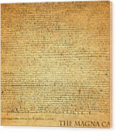 The Magna Carta 1215 Wood Print