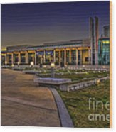 The Mahaffey Theater Wood Print by Marvin Spates