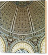 The Main Reading Room Library Of Congress Wood Print
