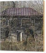 The Mansion Wood Print