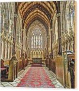 The Marble Church Interior Wood Print