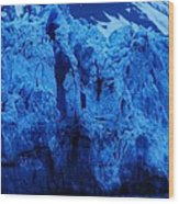 The Margerie Glacier 1 Wood Print