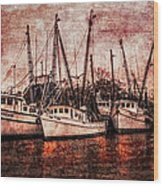 The Marina Wood Print