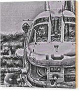 The Marine Crew Chief Wood Print